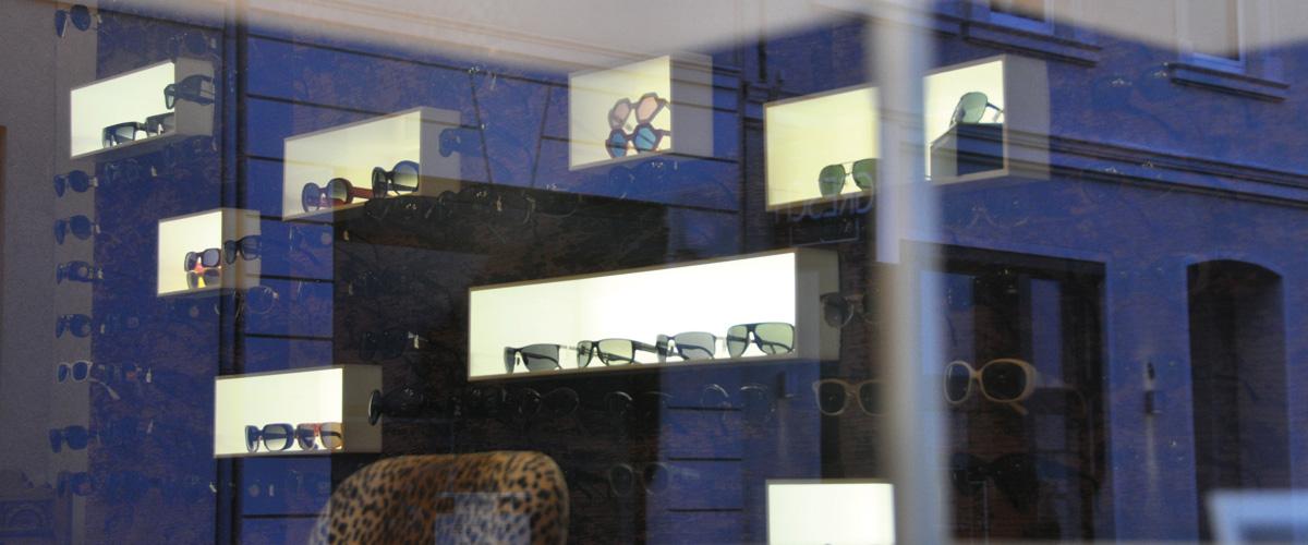 Brillenvilla Schaufenster