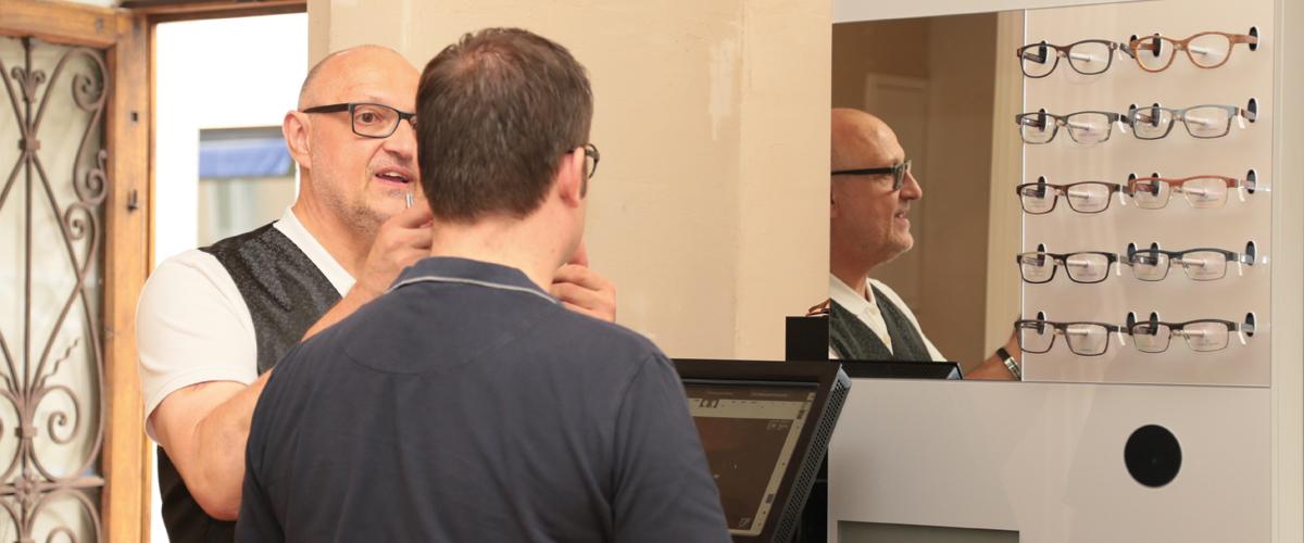 Optikermeister Wolfgang Benien