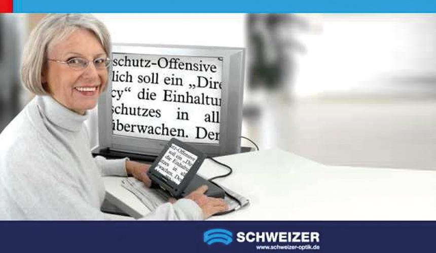 Bildschirmlesegerät für Senioren