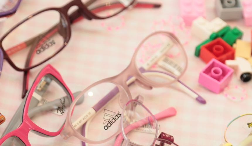 Kindersportbrille Mädchen
