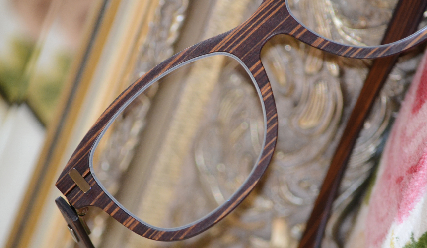 Brille Holz