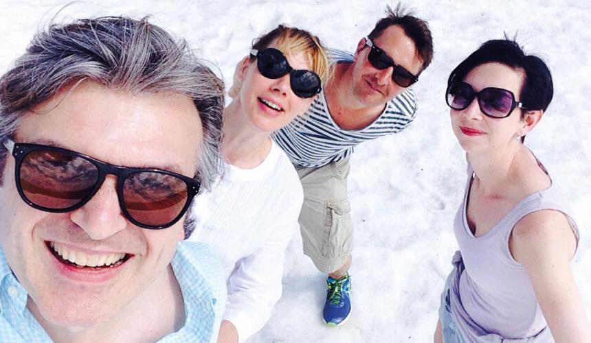Sonnebrillen im Skiurlaub