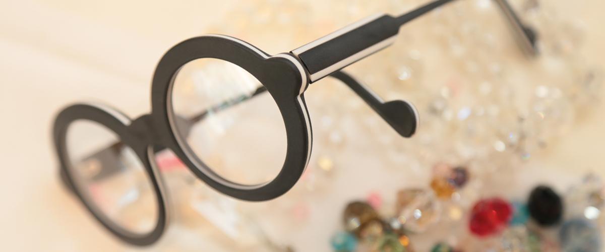 ausgefallene Brille
