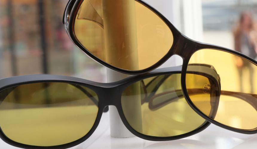 Polfilterbrille gelb
